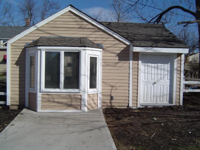 Garage bay window for Garage bay size